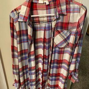 Sweaters - Plaid cardigan